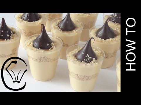Mini Caramel Cheesecake Cups with Chocolate Truffles by Cupcake Savvy's Kitchen