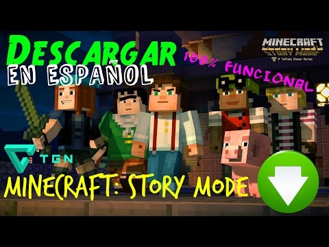 Descargar Minecraft Story Mode - Español - 100% Funcional