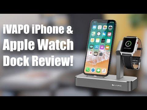 iVAPO iPhone & Apple Watch Dock Review!