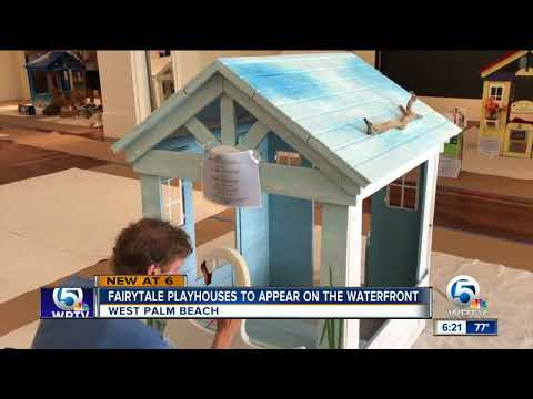 Fairytale playhouses to appear on the waterfront