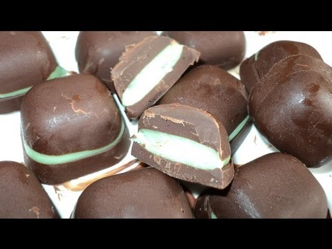 PEPPERMINT FILLED CHOCOLATES