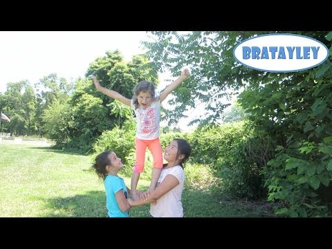 Cute Cheerleading Stunts! (WK 183.4) | Bratayley