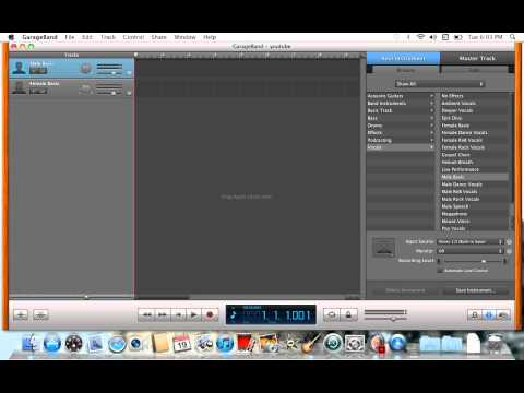 How to make your voice autotuned Mac Book Pro