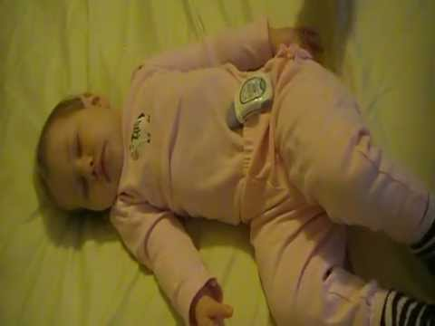 Snuza Placement for a Side or Tummy Sleeper