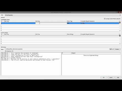 Creating ezParse rules for text based files in Catalyst