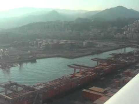 Landing Genova RWY  29