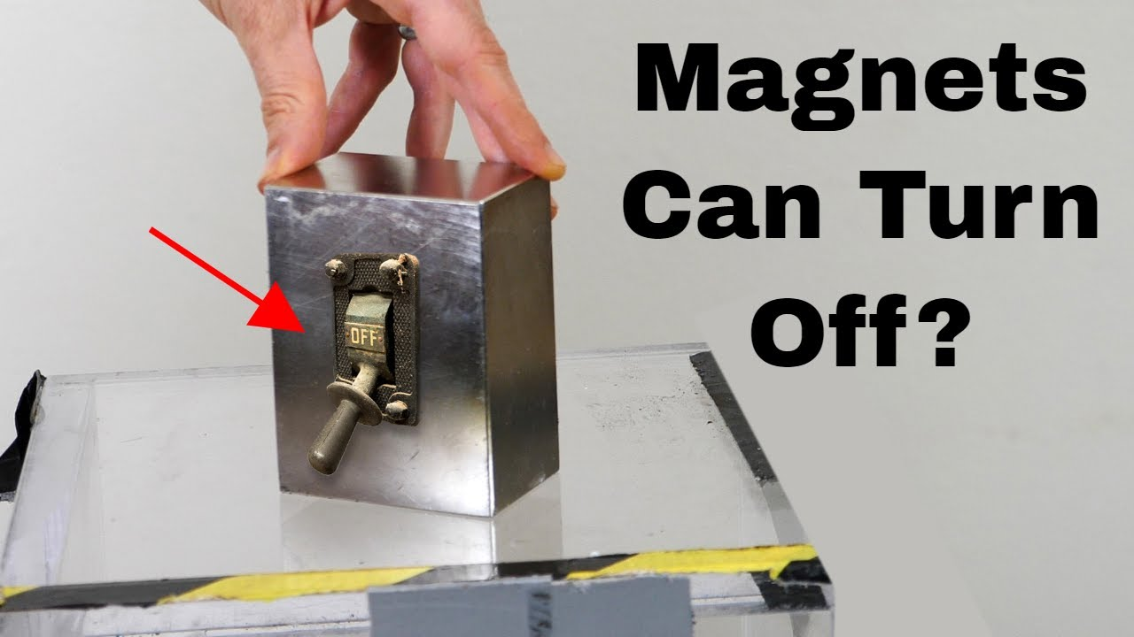 A Permanent Magnet That Turns On and Off