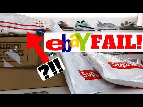 Ebay SNEAKER FAIL! 2001 Nike Pickup Turned Bad...