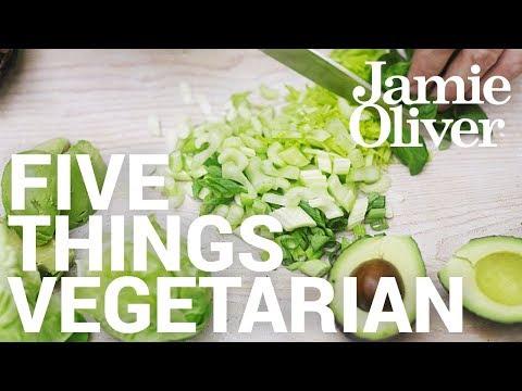 5 Things... Vegetarian | Food Tube Classic Recipes