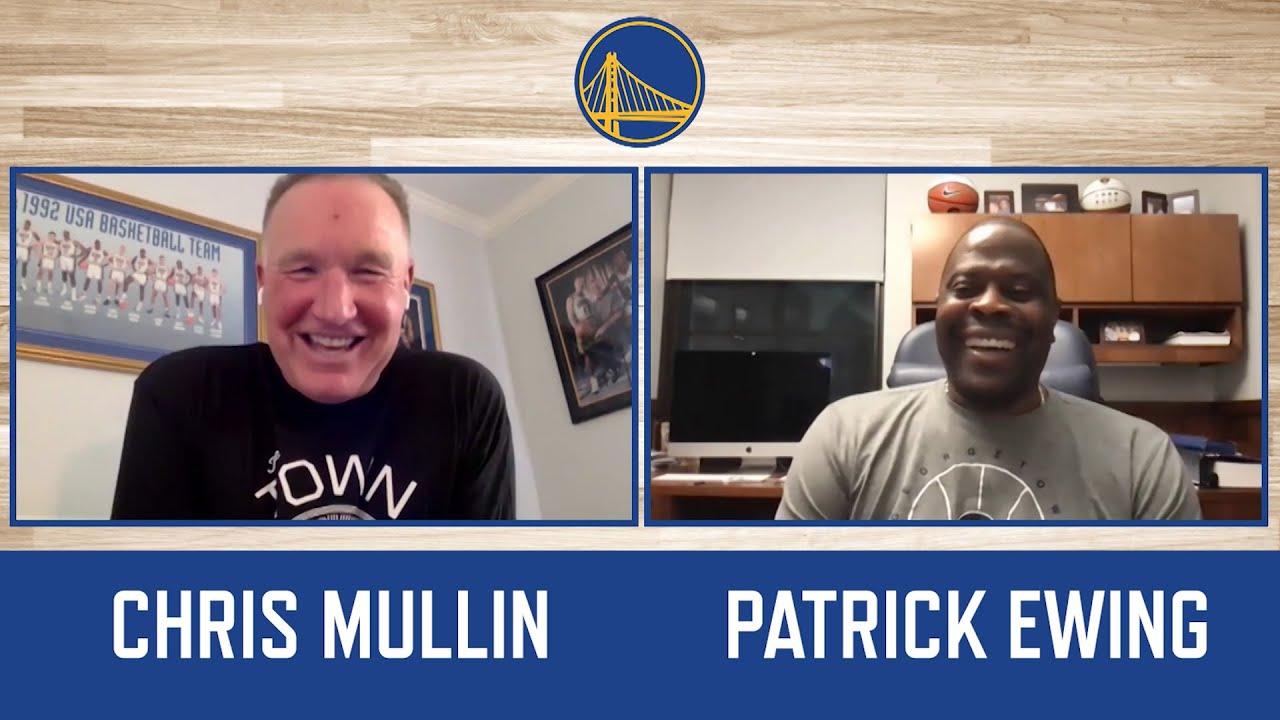 Chris Mullin & Patrick Ewing reflect on '92 Dream Team, Run TMC, and St. John's/Georgetown rivalry