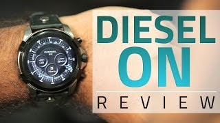 Diesel On Smartwatch Review | Android Wear Goes Fashionable?