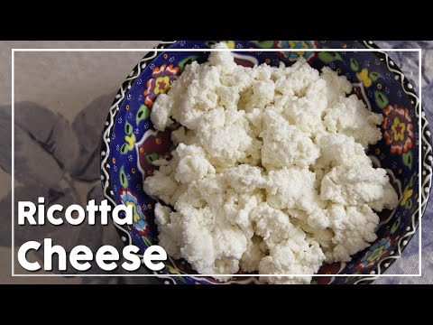 Ricotta Cheese - How To Make Ricotta Cheese At Home - My Recipe Book By Tarika Singh