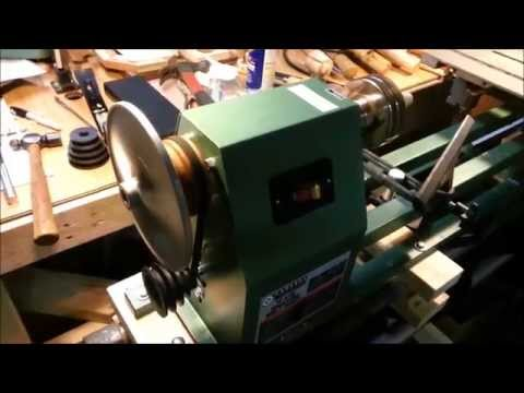 How to Slow Down A Basic Lathe (A DIY Mod)