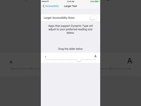 How To Enlarge Text On iPhone