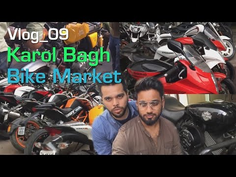 Cheap Price Second Hand Bikes - Karol Bagh (English sub titles) (Ktm, Harley, Hyosung)