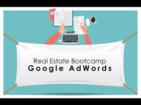 Setting up google adwords for seller leads. Live demonstration for real estate agents.