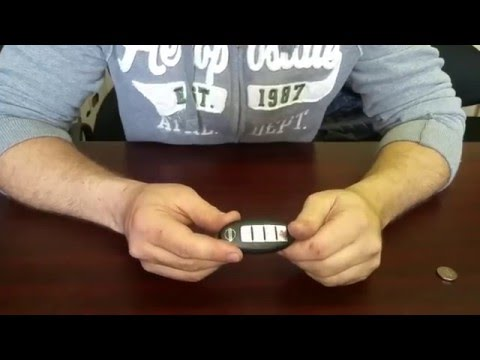 HOW TO REPLACE YOUR KEYLESS REMOTE BATTERY ON ANY NISSAN OR INFINITI VEHICLE.