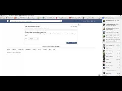 How To Change Facebook Page URL