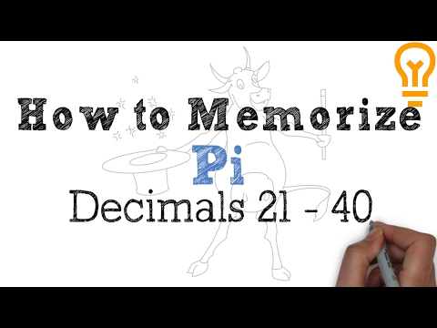 How to Memorize Pi - Easiest Way Possible (Video 2)