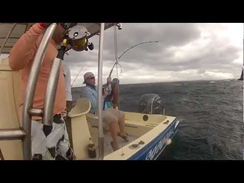 Fishing for Jack's in Costa Rica