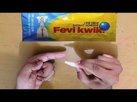 How To Remove Feviquick From Hands