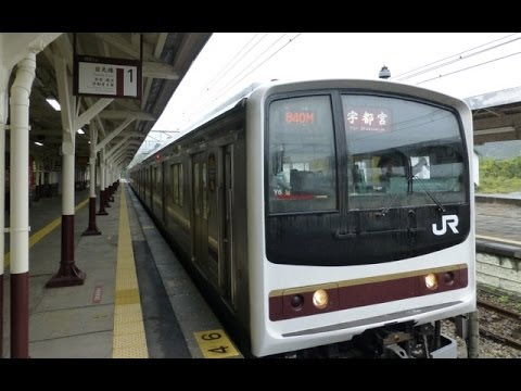 Japan Trains: Nikko Line, cab view,  05Oct13