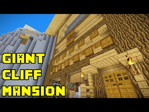 Minecraft: Giant Cliff/Cave Mansion Tutorial Xbox/PE/PC/PS3/PS4