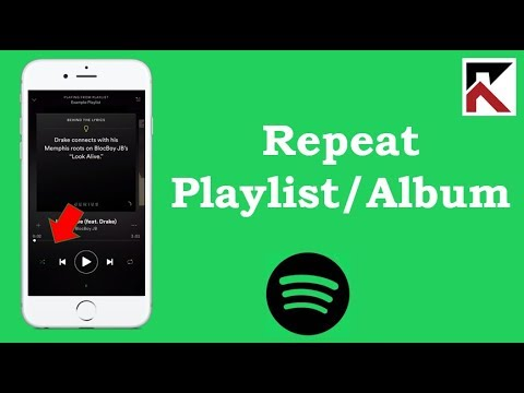 How To Repeat Playlist Or Album Spotify