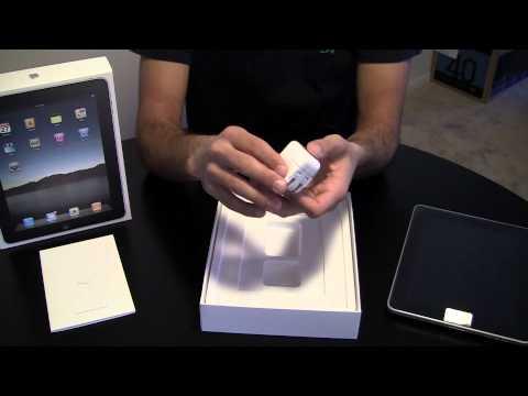 Unboxing:  Apple iPad 16 GB Wi-Fi Model