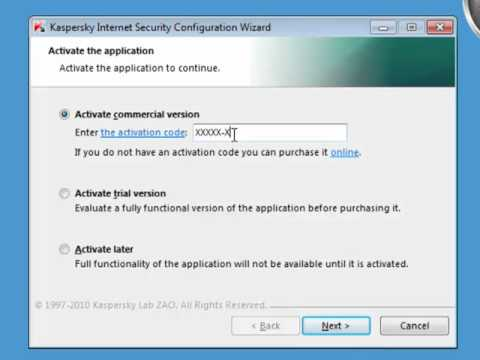 How to Install Kaspersky Internet Security 2011