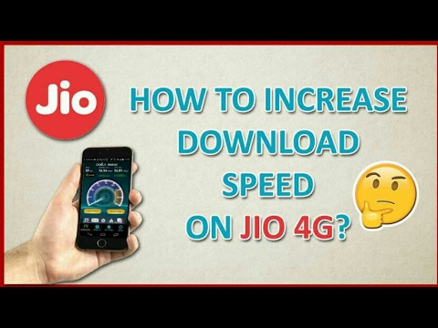 √√HOW TO INCREASE JIO INTERNET SPEED | INCREASE JIO 4G SPEED | HINDI | 100% WORKING