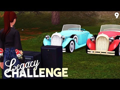 Sims 3 || Legacy Challenge: HE STOLE OUR CAR!? - Part 9