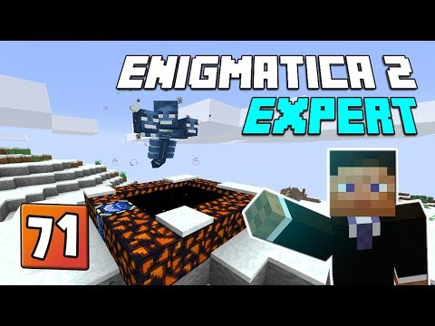 Enigmatica 2: Expert Mode - EP 71 Wither builder & Nether