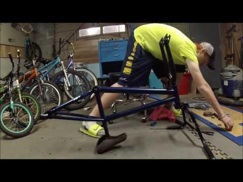 Putting bmx bike back together