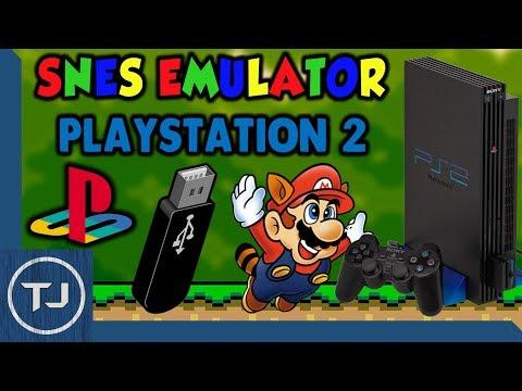 PlayStation 2 SNES Emulator! [USB & FreeMc Boot] (SNES Station) 2017!