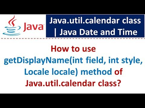 How to use getDisplayName(int field, int style, Locale locale) method of Java.util.calendar class