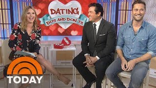 Dean Cain and Ryan Eggold Share Their Dating Do's and Don'ts | TODAY