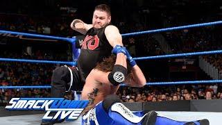 AJ Styles vs. Kevin Owens - United States Championship Match: SmackDown LIVE, Aug. 1, 2017