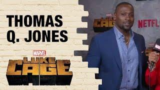 Thomas Q Jones on Comanche's Bond With Shades in Marvel's Luke Cage
