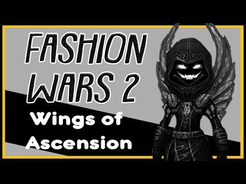 Fashion Wars 2  - Wings of Ascension (Ascended Backpiece)