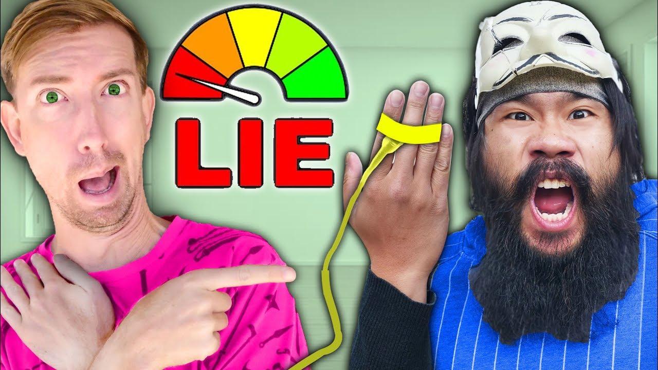 FACE REVEAL & LIE DETECTOR TEST REVEALS PZ9 SECRET! Is Melvin a Liar? True Spy Ninjas Challenge
