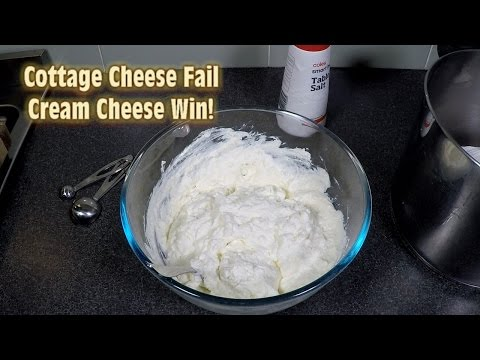Cottage Cheese Fail, Cream Cheese Win!