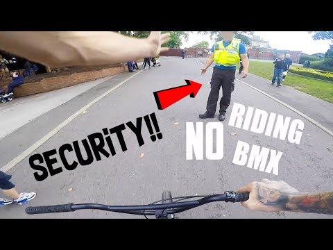SNEAKING MY BMX INTO A THEME PARK! *DRAYTON MANOR*
