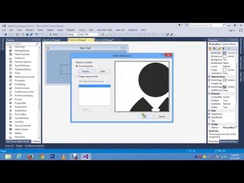 How to Make a User Login form on Visual Basic/Studio 2013