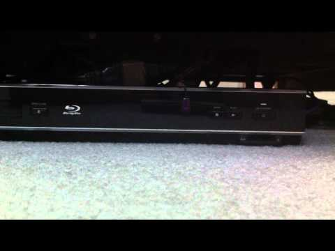 How to power on your Toshiba BDX-2500 Blu-Ray Player