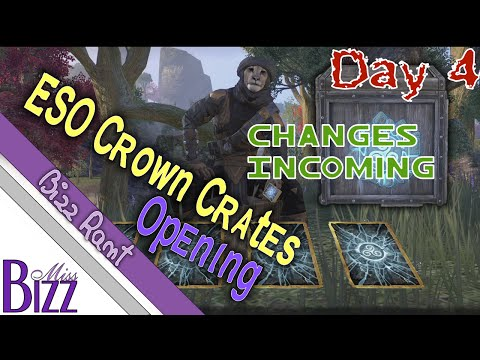 Changes Coming to Crown Crates! Storm Atronach Horse! Day 4 opening ESO Crown Crates!