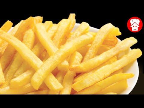घर पे क्रिस्पी फ्रेंच फ्राइज और मसाला फ्राइज बनाने की रेसिपी - 2 way french fries ki recipe in hindi