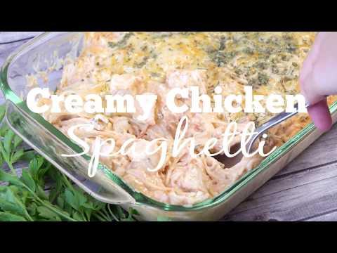 How to make: Chicken Spaghetti