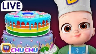 Pat A Cake Song + Many more Nursery Rhymes & Kids Songs by ChuChu TV - Live Stream