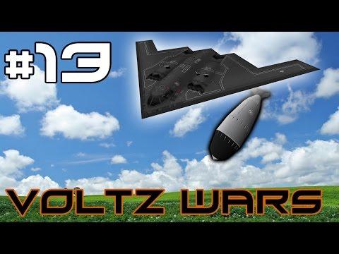 Minecraft Voltz Wars - Uranium Refining! #13